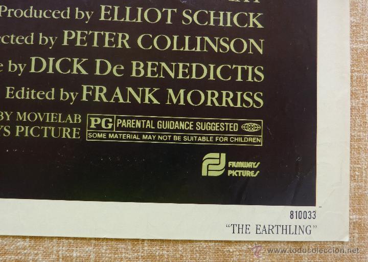 Cine: The Earthling Póster original de la película, Original, Doblado, año 1981, Hecho en U.S.A. - Foto 9 - 44067175