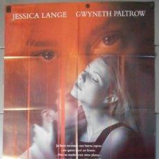 Cine: RELACION MORTAL,JESSICA LANGE CARTEL DE CINE ORIGINAL 70X100 APROX (9595). Lote 44082843