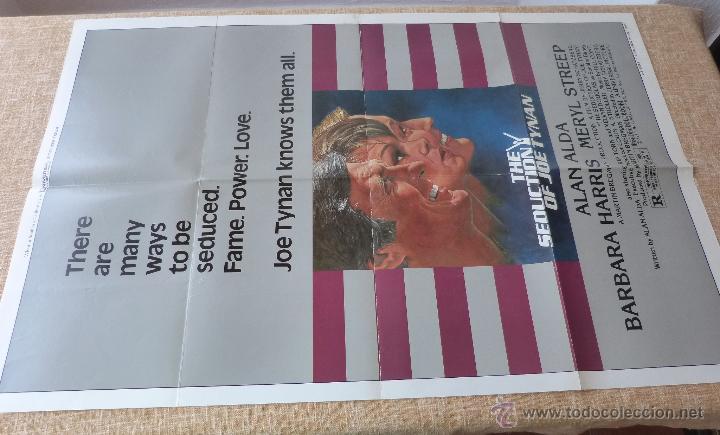 Cine: The Seduction of Joe Tynan Póster original de la película, Original, Doblado, año 1979, Hecho en USA - Foto 2 - 44101269
