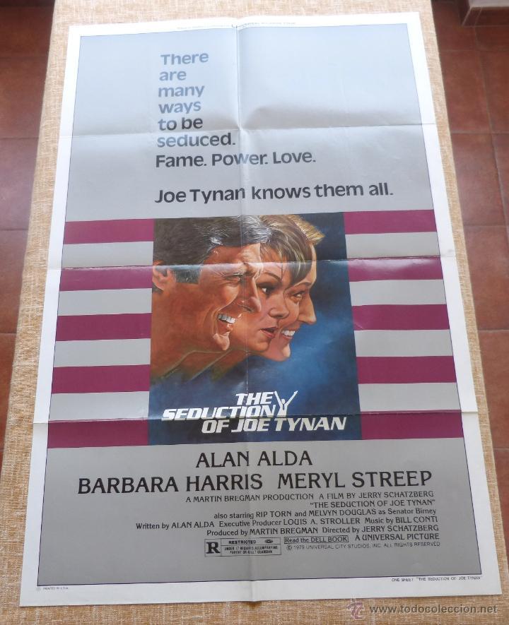 Cine: The Seduction of Joe Tynan Póster original de la película, Original, Doblado, año 1979, Hecho en USA - Foto 3 - 44101269