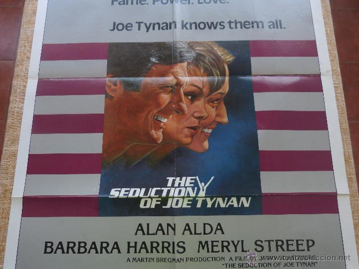 Cine: The Seduction of Joe Tynan Póster original de la película, Original, Doblado, año 1979, Hecho en USA - Foto 5 - 44101269