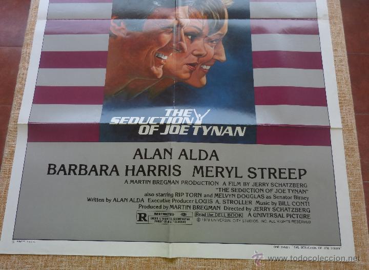 Cine: The Seduction of Joe Tynan Póster original de la película, Original, Doblado, año 1979, Hecho en USA - Foto 6 - 44101269