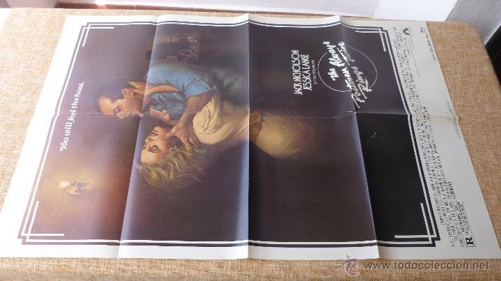 Cine: The Postman Always Rings Twice Póster original de la película, Original, Doblado, año 1981, U.S.A. - Foto 6 - 44107444
