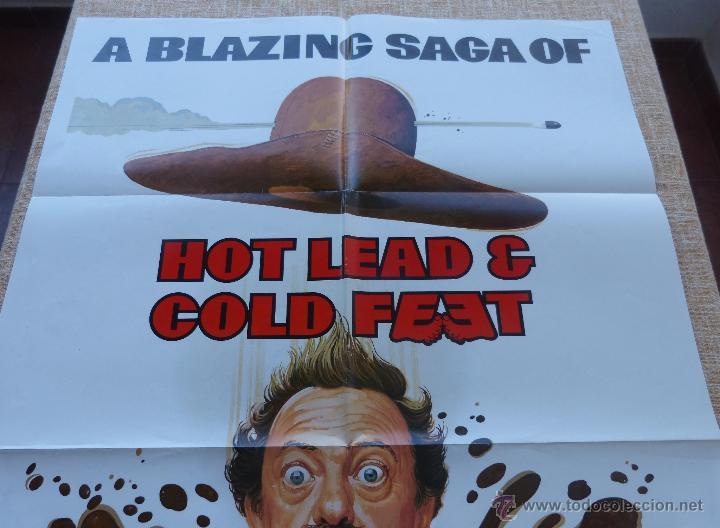 Cine: Hot Lead and Cold Feet Póster original de la película, Doblado, Original, año 1978, Hecho en U.S.A. - Foto 4 - 44125396