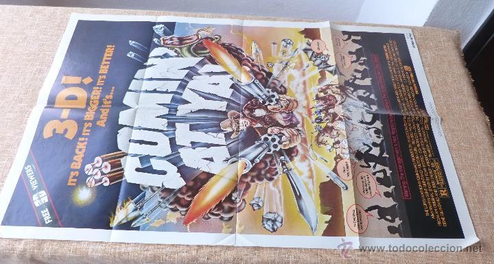 Cine: Comin´ At Ya Póster original de la película, Original, Doblado, One Sheet, año 1981, Hecho en U.S.A. - Foto 2 - 44132697