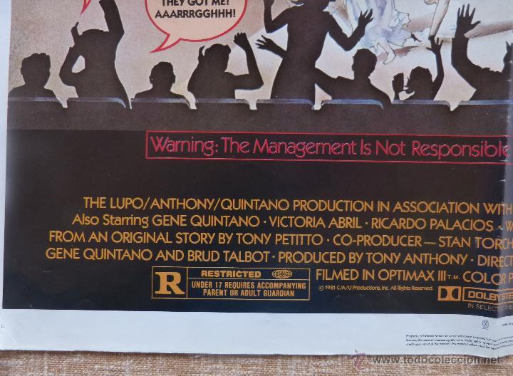Cine: Comin´ At Ya Póster original de la película, Original, Doblado, One Sheet, año 1981, Hecho en U.S.A. - Foto 7 - 44132697