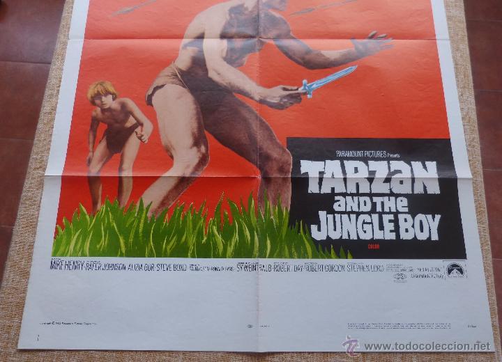 Cine: Tarzan and the Jungle Boy Póster original de la película, Original, Doblado, año 1968, Hecho en USA - Foto 6 - 44133534
