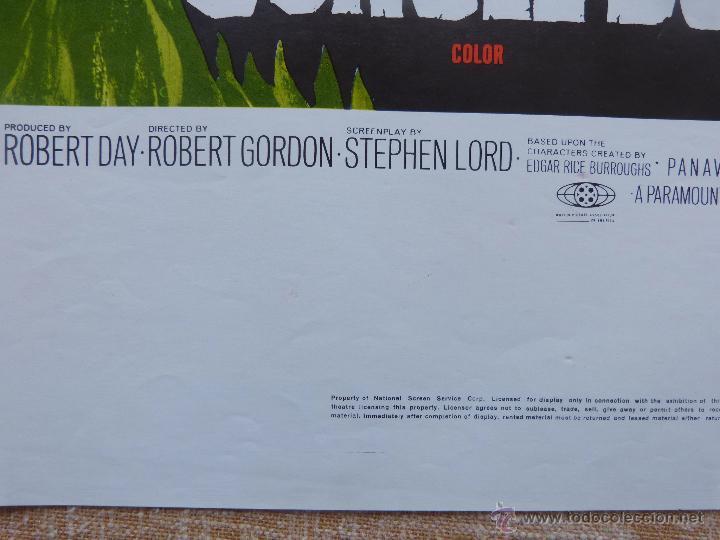 Cine: Tarzan and the Jungle Boy Póster original de la película, Original, Doblado, año 1968, Hecho en USA - Foto 11 - 44133534