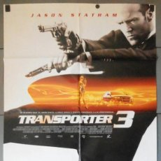 Cinema: TRANSPORTER 3, CARTEL DE CINE ORIGINAL 70X100 APROX (11173). Lote 44137858