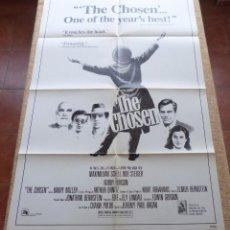 Cine: THE CHOSEN PÓSTER ORIGINAL DE LA PELÍCULA, ORIGINAL, DOBLADO, AÑO 1982, HECHO EN U.S.A.. Lote 44151889