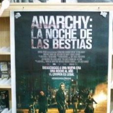 Cine: ANARCHY LA NOCHE DE LAS BESTIAS. Lote 195355745