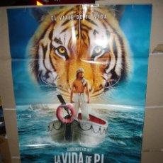 Cine: LA VIDA DE PI POSTER ORIGINAL 70X100 Q. Lote 218169971