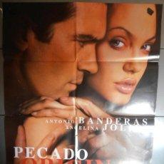 Cine: PECADO ORIGINAL,CARTEL DE CINE ORIGINAL 70X100 CM CON ALGUN DEFECTO A 1€,VER FOTO (1664). Lote 44238140