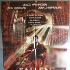 Cine: FALLEN,CARTEL DE CINE ORIGINAL 70X100 CM CON ALGUN DEFECTO A 1€,VER FOTO (2098). Lote 44238167