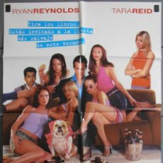 Cine: VAN WILDER ANIMAL PARTY,CARTEL DE CINE ORIGINAL 70X100 CM CON ALGUN DEFECTO A 1€,VER FOTO (6545). Lote 44249728