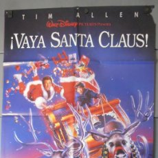 Cinema: ¡VAYA SANTA CLAUS!,CARTEL DE CINE ORIGINAL 70X100 CM CON ALGUN DEFECTO A 1€,VER FOTO (6957). Lote 44249808