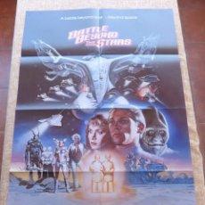 Cine: BATTLE BEYOND THE STARS PÓSTER ORIGINAL DE LA PELÍCULA, ORIGINAL, DOBLADO, AÑO 1980, JOHN SAXON, USA. Lote 44250764