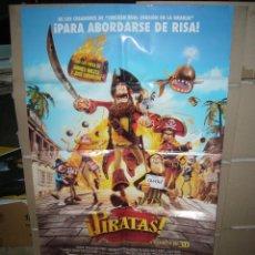 Cine: PIRATAS POSTER ORIGINAL 70X100 P78. Lote 44269132