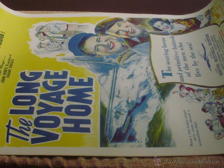 Cine: Long Voyage Home Póster de lino original de la película, Enrollado, reproducción de 1940, U.S.A. - Foto 2 - 44278355