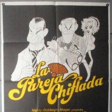 Cine: (11773)LA PAREJA CHIFLADA, CARTEL DE CINE ORIGINAL 70X100 APROX,WALTER MATTHAU,GEORGE BURNS. Lote 44337953