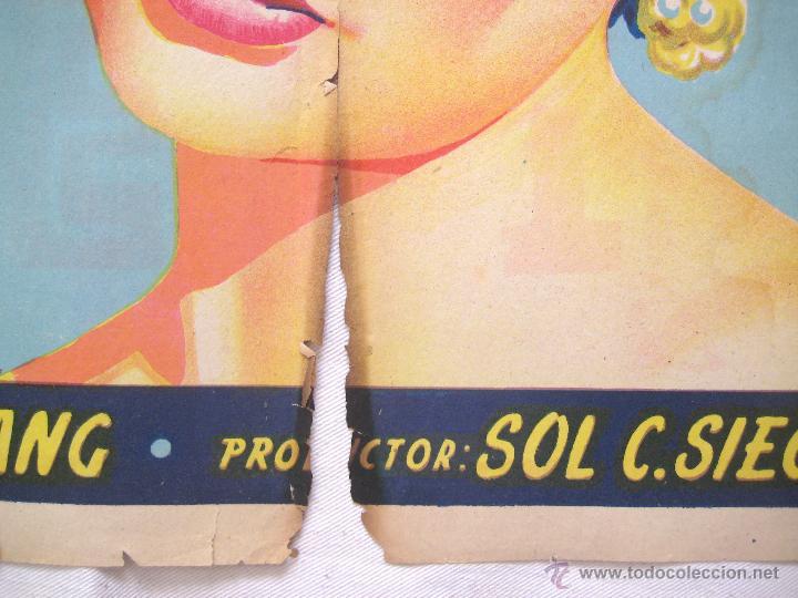 Cine: CARTEL POSTER ORIGINAL *EN LA COSTA AZUL* DANNY KAYE GENE TIERNEY. SOLIGÓ - Foto 3 - 44345666