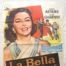 Cine: CARTEL POSTER ORIGINAL *LA BELLA DE MOSCÚ (NINOTCHKA)* FRED ASTAIRE CYD CHARISSE. JANO. Lote 44345837