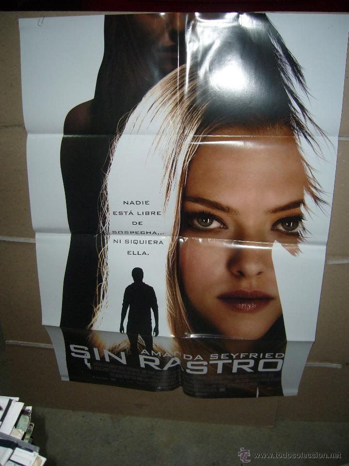 SIN RASTRO AMANDA SEYFRIEDP POSTER ORIGINAL 70X100 Q (Cine - Posters y Carteles - Suspense)