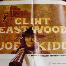 Cine: JOE KIDD PÓSTER ORIGINAL DE LA PELÍCULA, ORIGINAL, DOBLADO, AÑO 1972, CLINT EASTWOOD, HECHO EN U.S.A. Lote 44443425