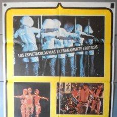 Cinema: (12455)MUNDO DE NOCHE HOY, CARTEL DE CINE ORIGINAL 70X100 APROX,CONSERVACION:VER FOTO. Lote 44448696