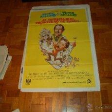 Cine: CARTEL DE EL ESTRAFALARIO PRISIONERO DE ZENDA. Lote 44451389