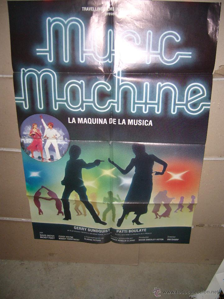 MUSIC MACHINE GERRY SUNDQUIST PATTI BOULAYE POSTER ORIGINAL 70X100 YY(729) (Cine - Posters y Carteles - Musicales)