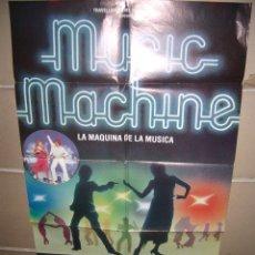 Cine: MUSIC MACHINE GERRY SUNDQUIST PATTI BOULAYE POSTER ORIGINAL 70X100 YY(729). Lote 44692458