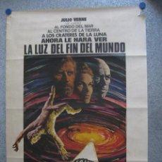 Cine: LA LUZ DEL FIN DEL MUNDO. JULIO VERNE. KIRK DOUGLAS, YUL BRYNNER . AÑO 1971.. Lote 44737328