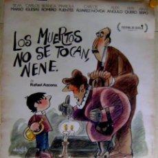 Cine: GRAN CARTEL. LOS MUERTOS NO SE TOCAN, NENE. RAFAEL AZCONA. FESTIVAL DE SEVILLA. Lote 48129668