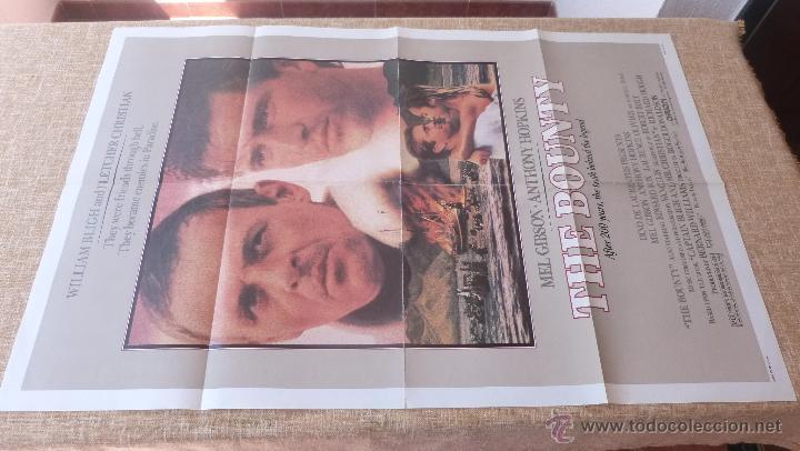 Cine: The Bounty Póster original de la película, Original, Doblado, año 1984, Hecho en U.S.A., Mel Gibson - Foto 5 - 44752517