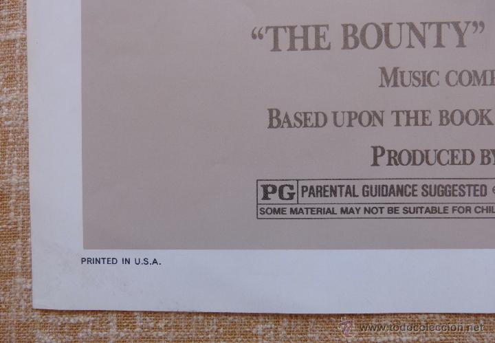Cine: The Bounty Póster original de la película, Original, Doblado, año 1984, Hecho en U.S.A., Mel Gibson - Foto 7 - 44752517