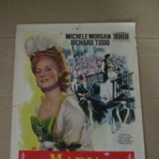 Cine: ANTIGUA PRUEBA DE IMPRENTA CARTEL ORIGINAL * MARIA ANTONIETA * DE JANO - AÑO 1950S.. Lote 44856227