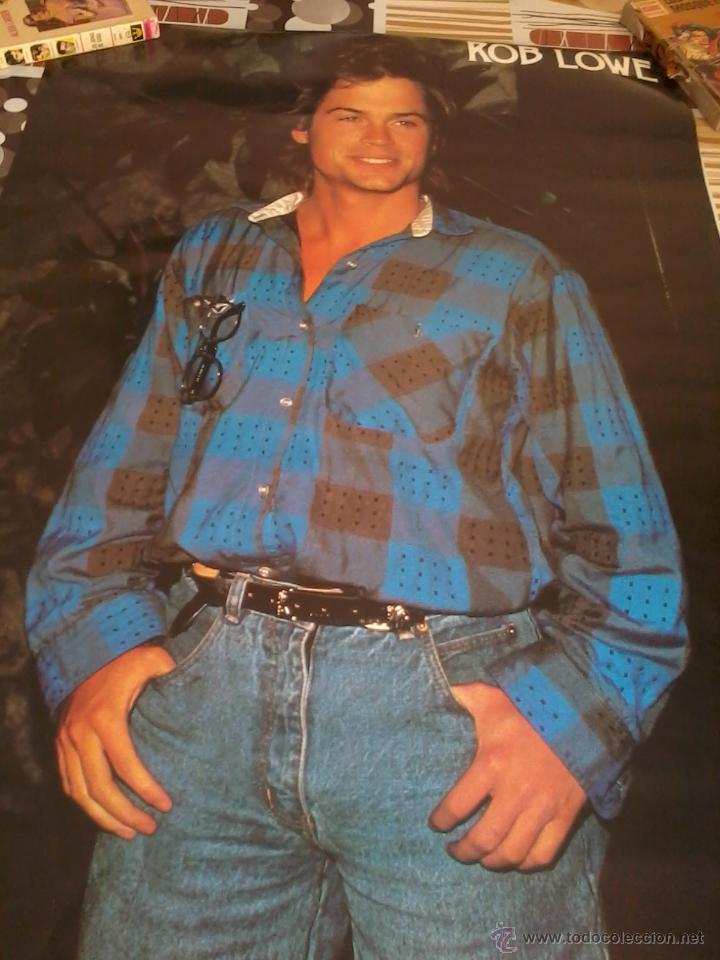 POSTERS. ROB LOWE. MEDIDA 93 X 62. (Cine - Posters y Carteles - Musicales)