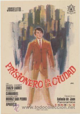 PRISIONERO EN LA CIUDAD. SENCILLO DE DELTA FILMS. ¡IMPECABLE! (Cine - Posters y Carteles - Clasico Español)