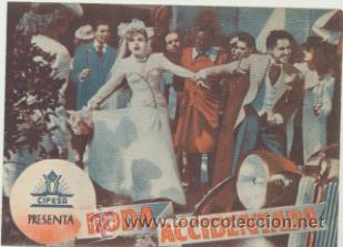 BODA ACCIDENTADA. DOBLE DE CIFESA. (Cine - Posters y Carteles - Clasico Español)