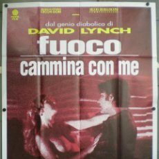 Cine: QM62 TWIN PEAKS DAVID LYNCH POSTER ORIGINAL ITALIANO 140X200. Lote 16348003