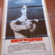 Cine: KING OF THE GYPSIES PÓSTER ORIGINAL DE LA PELÍCULA, ORIGINAL, DOBLADO, AÑO 1978, HECHO EN U.S.A.. Lote 45116157