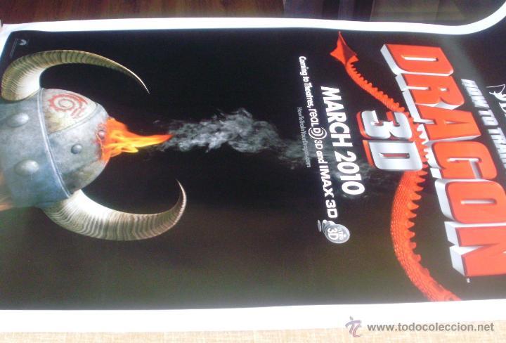 Cine: How to Train your Dragon Póster original de la película, Enrollado, Doble Cara, Teaser, año 2009 - Foto 3 - 45143709