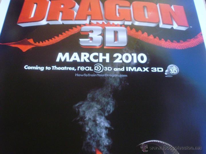 Cine: How to Train your Dragon Póster original de la película, Enrollado, Doble Cara, Teaser, año 2009 - Foto 8 - 45143709