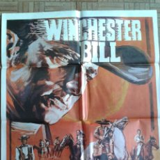 Cine: WINCHESTER BILL. POSTER ESTRENO 70X100. RICHARD WYLER, FERNANDO SANCHO. Lote 45146528
