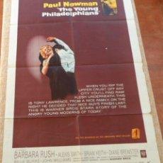 Cine: THE YOUNG PHILADELPHIANS PÓSTER ORIGINAL DE LA PELÍCULA, ORIGINAL, DOBLADO, AÑO 1959, HECHO EN USA. Lote 45236259