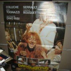 Cine: DAGOBERTUS LOCAS HISTORIAS MEDIEVALES DINO RISI POSTER ORIGINAL YY (772). Lote 45290522