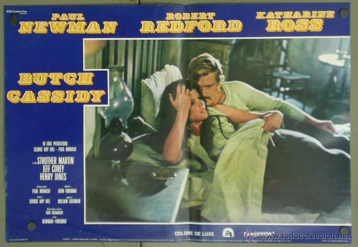 Cine: VA33 DOS HOMBRES Y UN DESTINO PAUL NEWMAN ROBERT REDFORD SET 6 POSTERS ITALIANO 47X68 - Foto 3 - 45290690