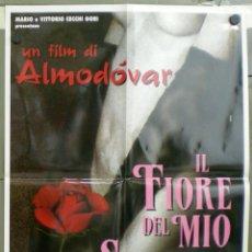 Cine: VA46 LA FLOR DE MI SECRETO PEDRO ALMODOVAR POSTER ORIGINAL ITALIANO 68X94. Lote 45299334