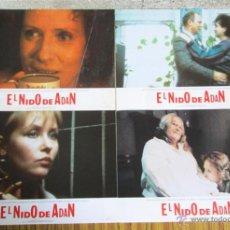 Cine: 8 FOTO CROMOS + CARTEL --- EL NIDO DE ADAN -- INNA CHURIKOV, SVETLANA RIBOVA. Lote 45317805